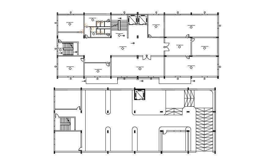 Free Download Commercial Building Floor Plan Autocad File Cadbull