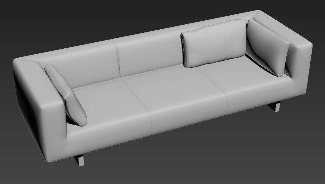 Free Download modern 3 Seater Sofa Set Designs 3D MAX File ...