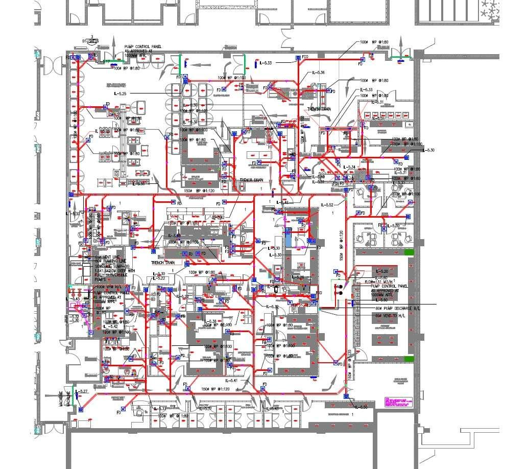 Interior Plan Of Restaurant Kitchen Furniture With Working PDF