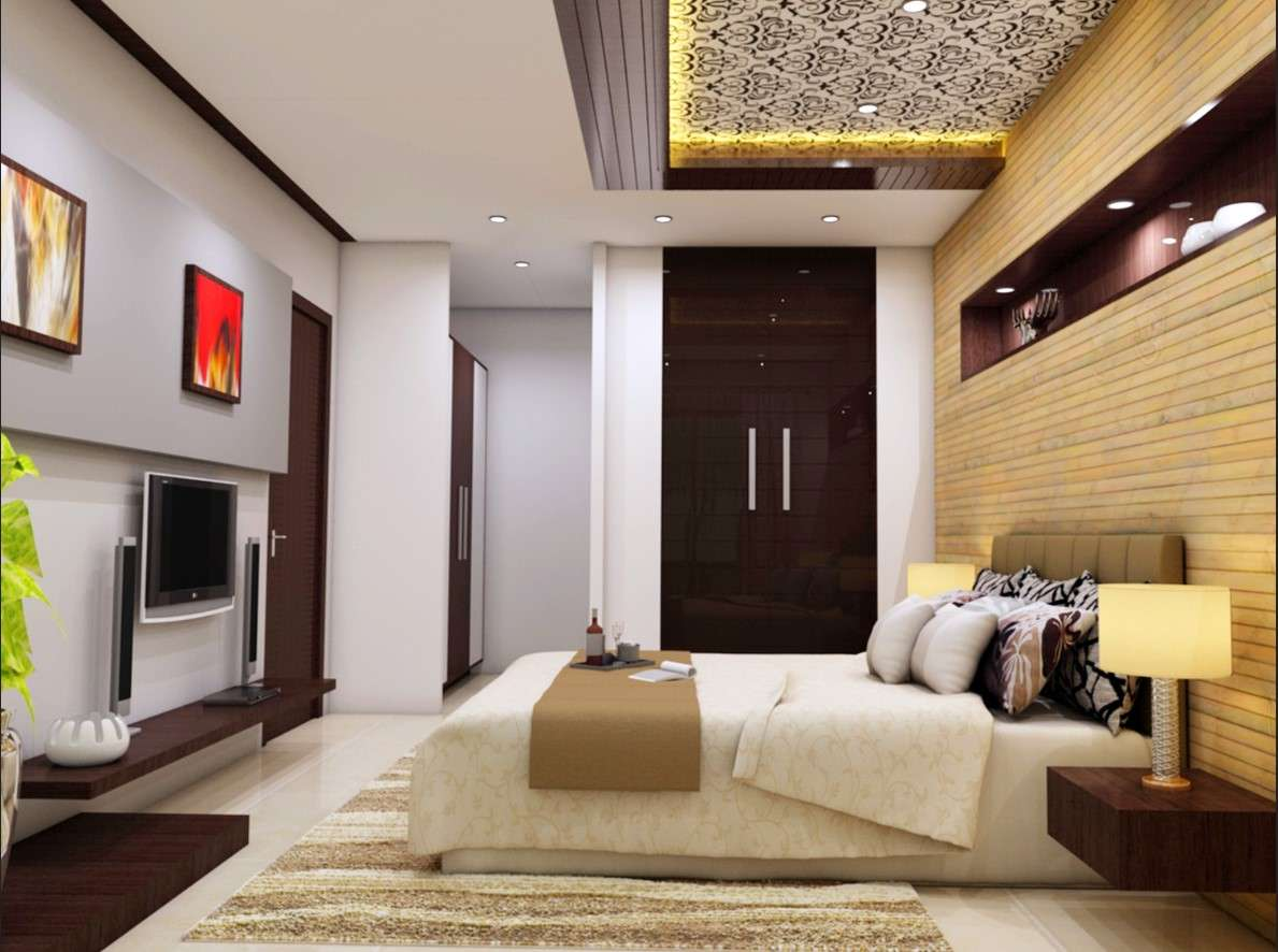 Master Bedroom Interior Design 3d Drawing Details Dwg File Cadbull