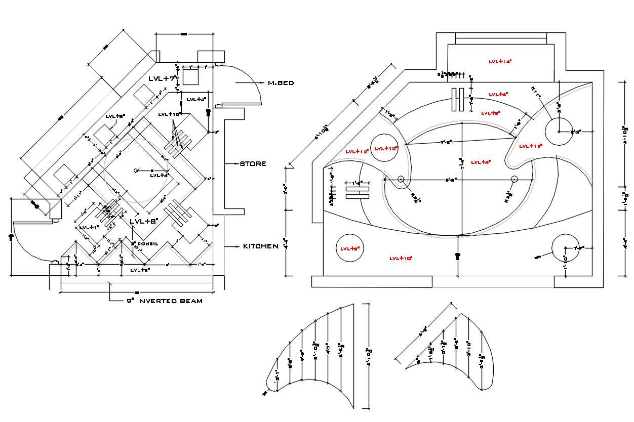 POP Ceiling Design AutoCAD File - Cadbull