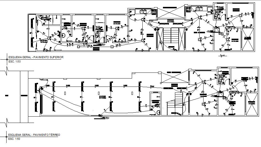 [SODI_2457]   Residential villa project electrical plan detail dwg file - Cadbull | Villa Electrical Plan |  | Cadbull