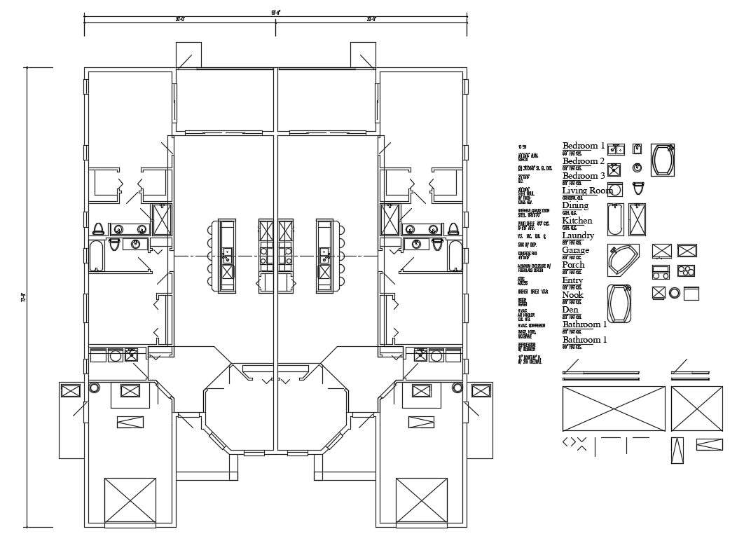 Second Floor Framing Plan And Plan Details Of House Dwg File Cadbull
