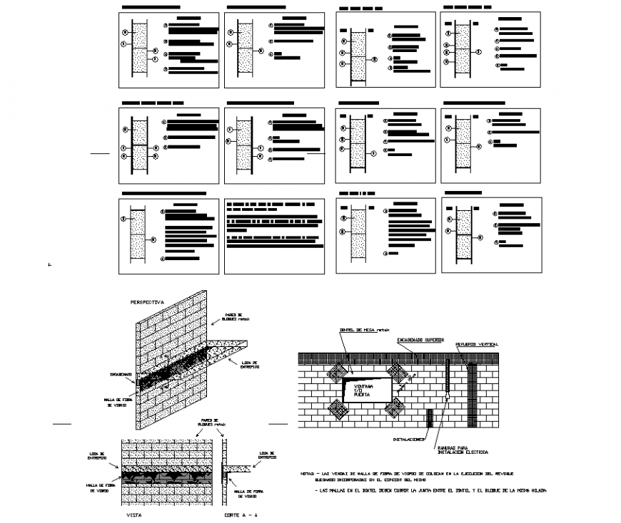 Home Designin 3d: Brick Wall Construction Detail Drawing In Dwg AutoCAD File