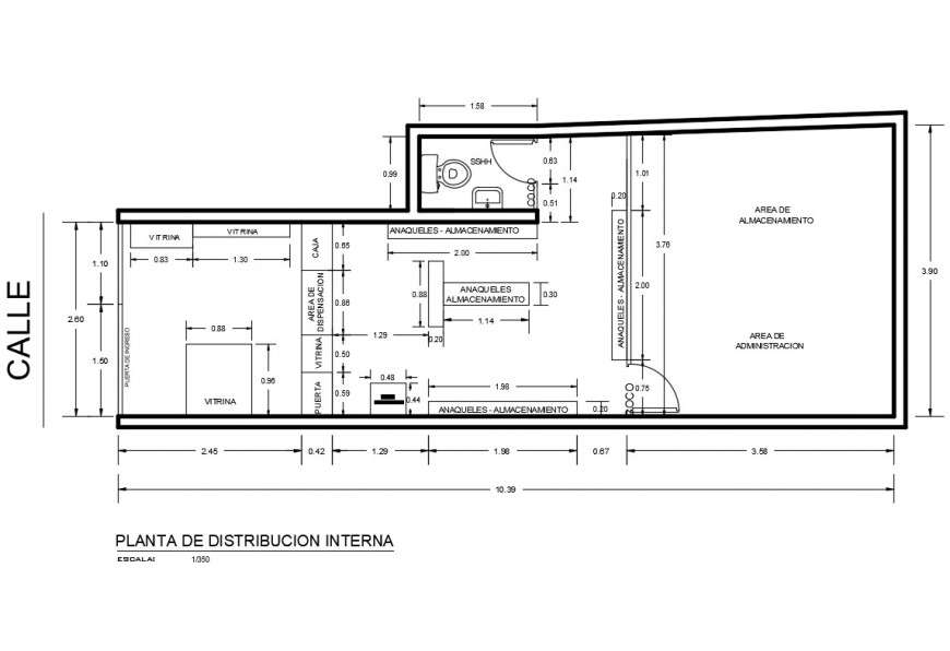 Small Office Building Plan Detail 2d View Layout File In Autocad Format Cadbull