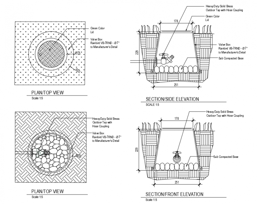 Swimming Pool Section Elevation And Plan Top View Cad Drawing Details Dwg File Cadbull